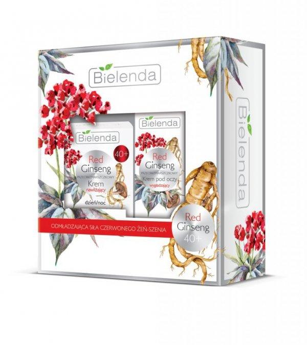 Bielenda Zestaw prezentowy Red Ginseng 40+ (krem na dzień i noc 50ml+krem pod oczy 15ml)