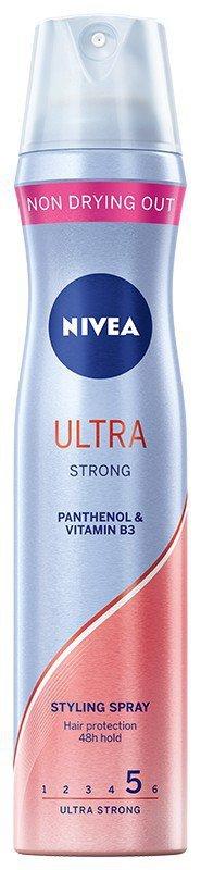 Nivea Hair Care Styling Lakier do włosów Ultra Strong  250ml