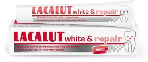 Lacalut Pasta do zębów White & Repair wybielająco naprawcza 75ml