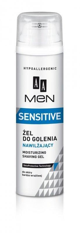 AA Men Sensitive Żel do golenia nawilżający  200ml