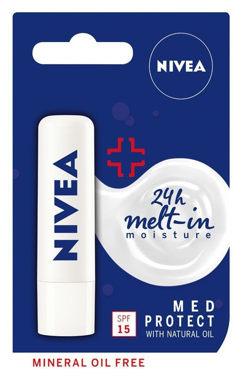 Nivea Lip Care Pomadka ochronna MED PROTECT  4.8g