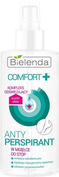 Bielenda Comfort + Antyperspirant w mgiełce dp stóp  150ml