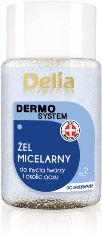 Delia Cosmetics Dermo System Żel micelarny do mycia twarzy Mini 50ml
