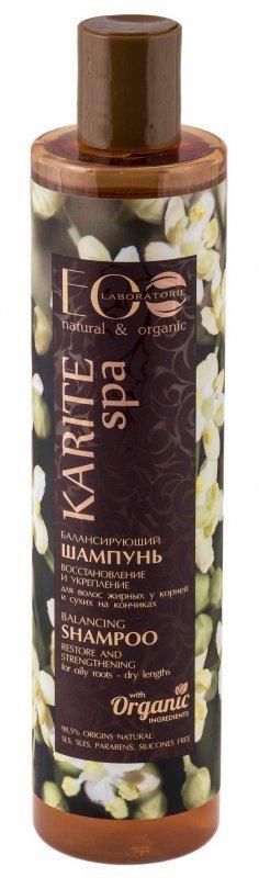 EOLaboratorie Karite Spa Szampon przywracający równowagę włosów tłustych  350ml