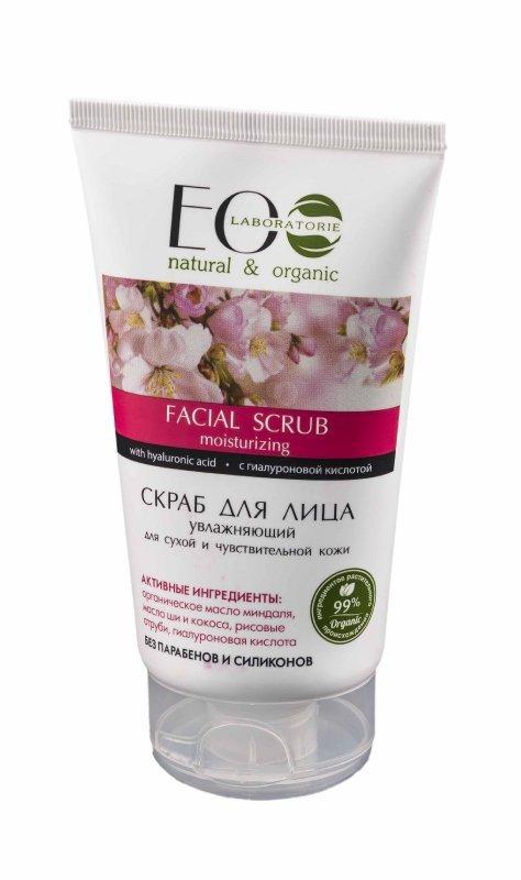 EOLaboratorie Facial Scrub nawilżający do twarzy - cera sucha i wrażliwa  150ml