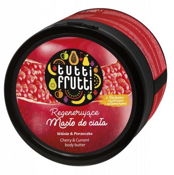Farmona Tutti Frutti Masło do ciała regenerujące Wiśnia & Porzeczka  200ml