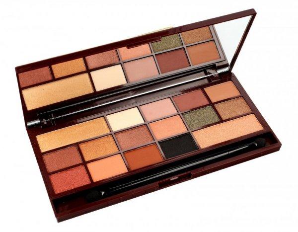 I Heart Makeup Palette Zestaw cieni do powiek Chocolate 24k Gold 22g (16 kolorów)