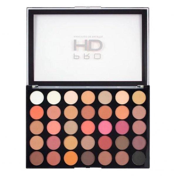 Paleta cieni Makeup Revolution Pro HD Amplified - 35 cieni do powiek