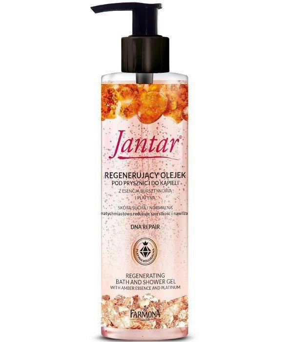 Farmona Jantar DNA Repair Olejek pod prysznic i do kąpieli regenerujący z platyną  400ml