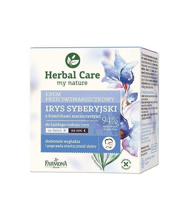Farmona Herbal Care Krem przeciwzmarszczkowy Irys Syberyjski na dzień i noc  50ml