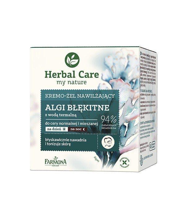 Farmona Herbal Care Krem-żel nawilżający Algi Błękitne na dzień i noc  50ml