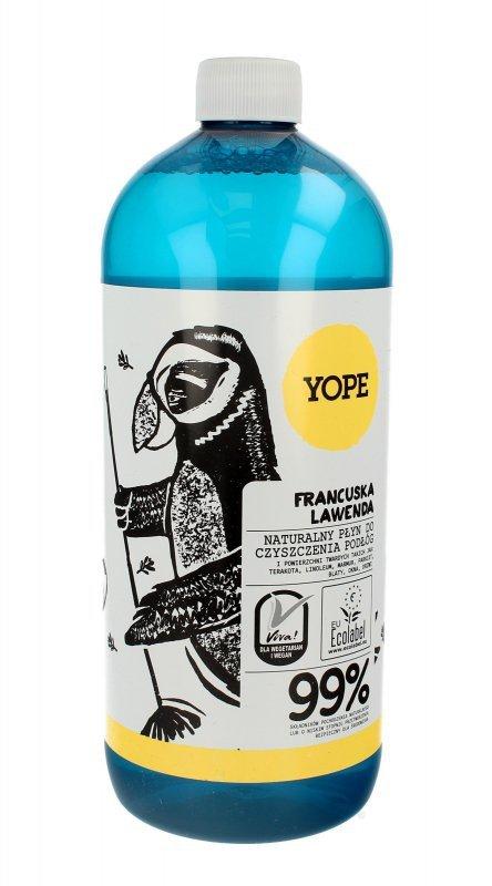 YOPE Płyn do czyszczenia podłóg FRANCUSKA LAWENDA  1000ml