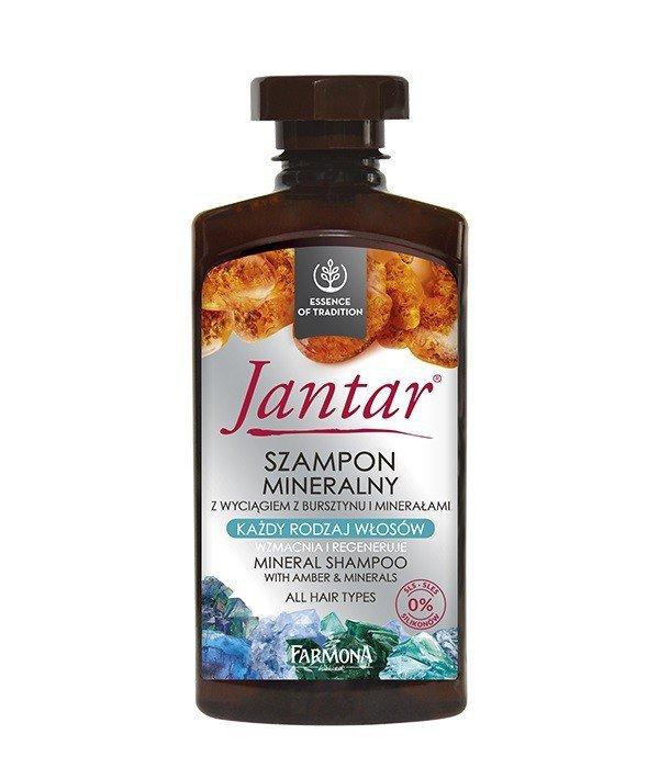 Farmona Jantar Szampon mineralny - każdy rodzaj włosów  330ml