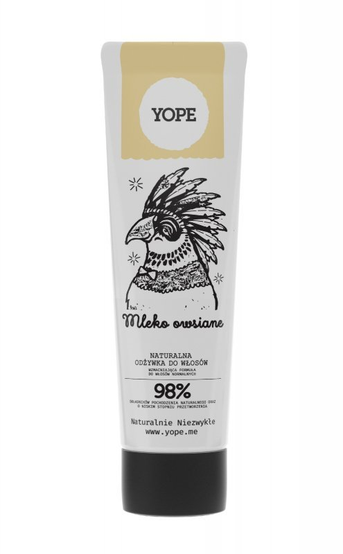 YOPE Odżywka do włosów Mleko Owsiane 170ml