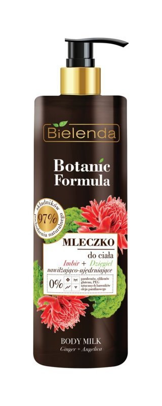 Bielenda Botanic Formula Imbir+Dzięgiel Mleczko do ciała  400ml