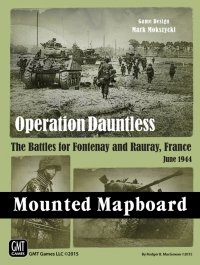 Operation Dauntless/Red Winter - Mounted Mapboard