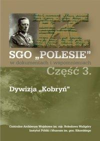 SGO Polesie t. III Dywizja Kobryń