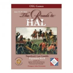 The Roads to Hal. Expansion II for Napoleon's Last Gamble.