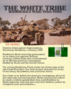 The White Tribe: Rhodesia's War 1966-1980