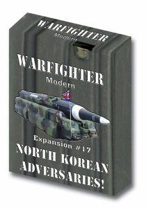 Warfighter Modern - Expansion #17 North Korea Adversaries