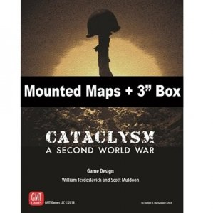 Cataclysm Mounted map set + 3 inch Box