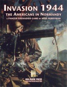 Panzer Grenadier Invasion 1944, Playbook Edition