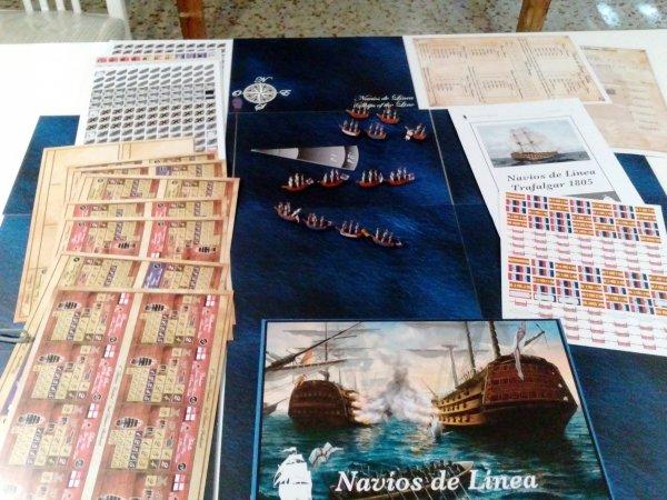 Ships of the line: Trafalgar 1805 (2ed)