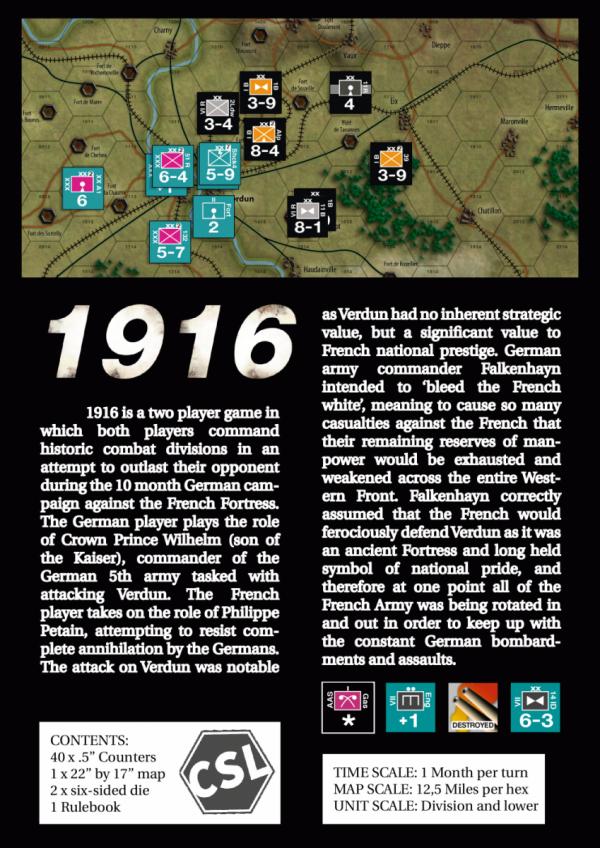 1916: Verdun Campaign of Attrition