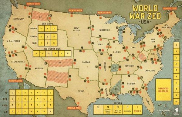 WORLD WAR ZED: USA