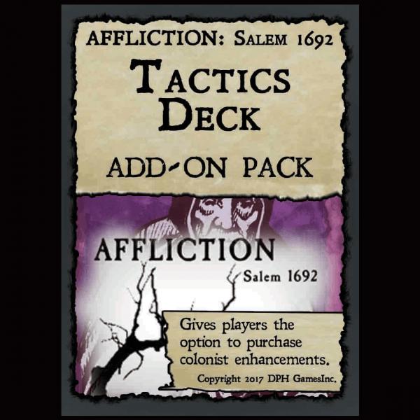AFFLICTION: Salem 1692 – Tactics Card Add-on Pack