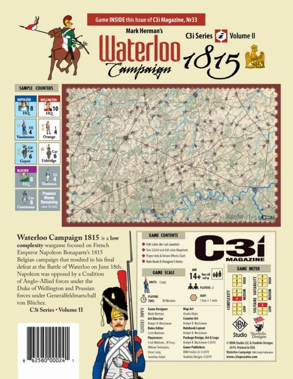 C3i Magazine Issue #33 - The Waterloo Campaign 1815