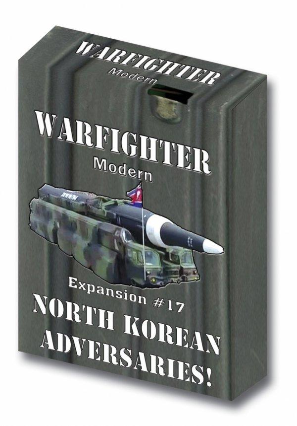 Warfighter Modern - Expansion #17 North Korea Adversaries