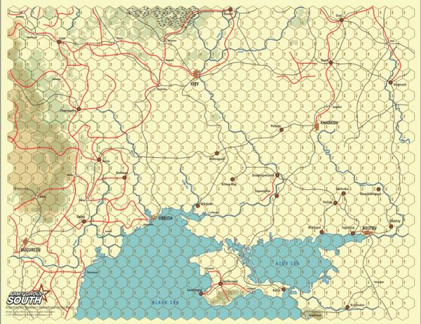 DAMOS: Army Group South