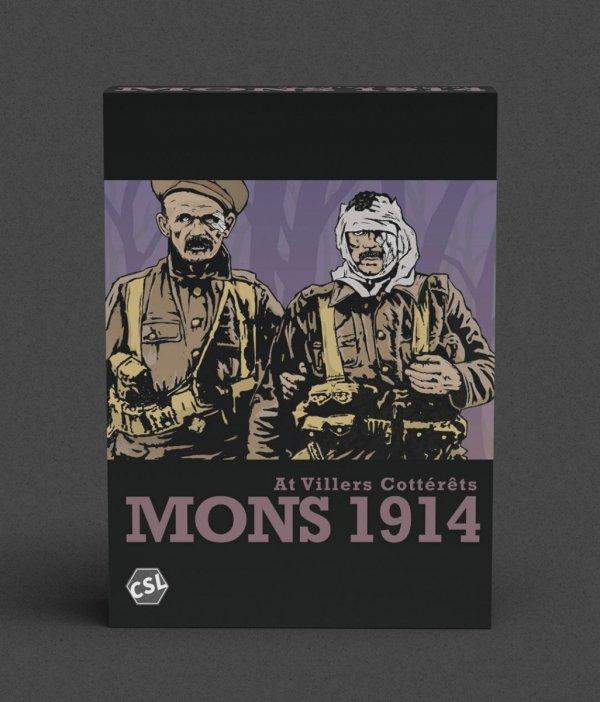 At Villers Cottérêts: Mons 1914