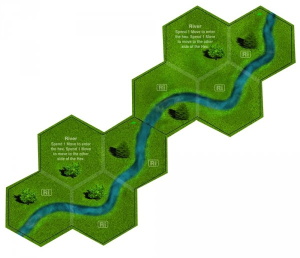 Tiger and Sherman Leader Terrain Tile Pack #1, 2nd Edition