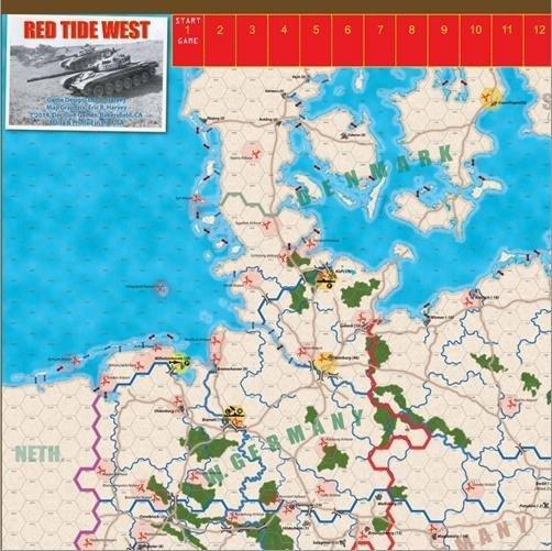 Modern War #15 SE Red Tide West