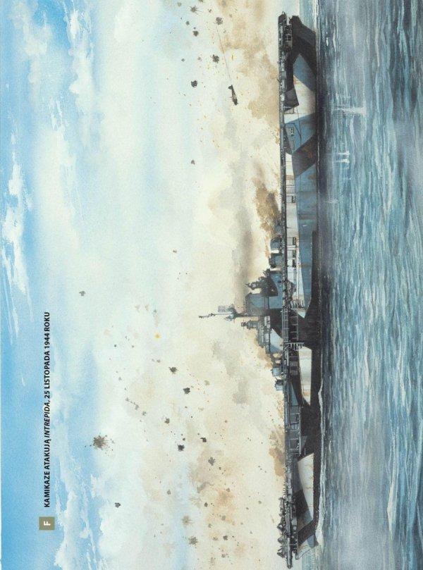 Lotniskowce US Navy 1942-1945. Jednostki zbudowane podczas II wojny światowej