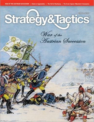 Strategy & Tactics #289 War of the Austrian Succession