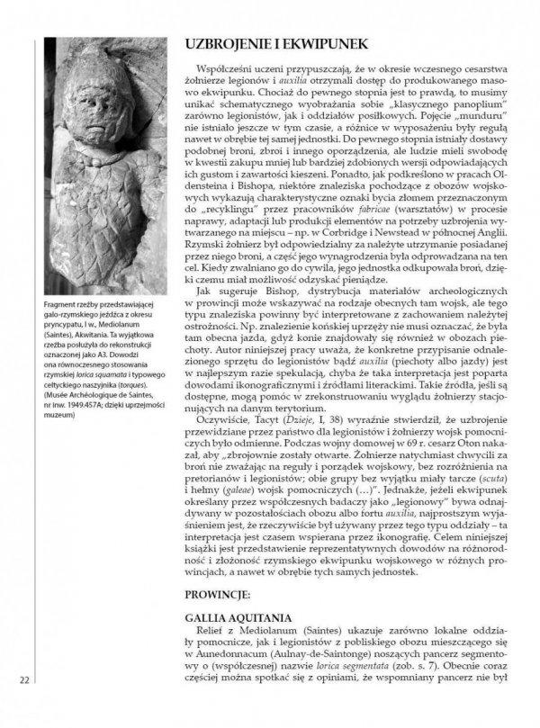 Rzymskie oddziały w prowincjach zachodnich (1) 31 przed Chr.-195 po Chr.