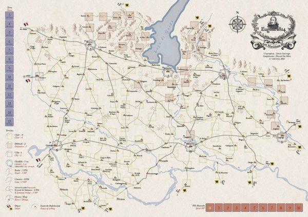 Les Maréchaux III: Augereau - Eugéne 1814