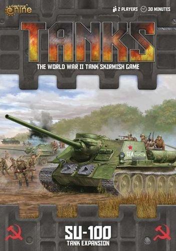 Tanks: SU-100 Exp.