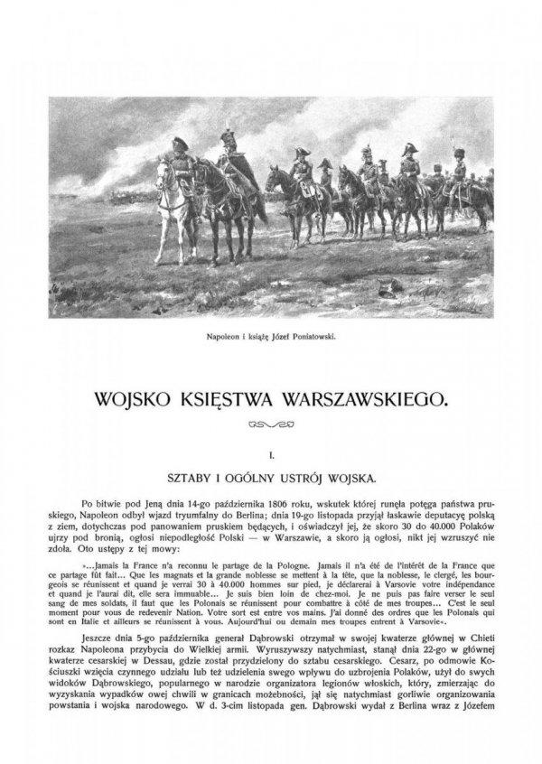 Wojsko Polskie. Księstwo Warszawskie