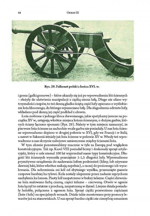 Rozwój sprzętu artyleryjskiego i metod strzelania artylerii w zarysie