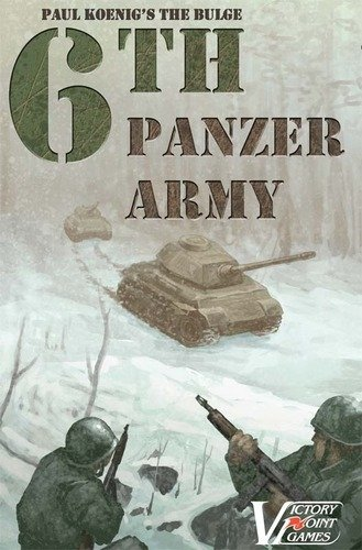 Paul Koenig's The Bulge: 6th Panzer Army (box)