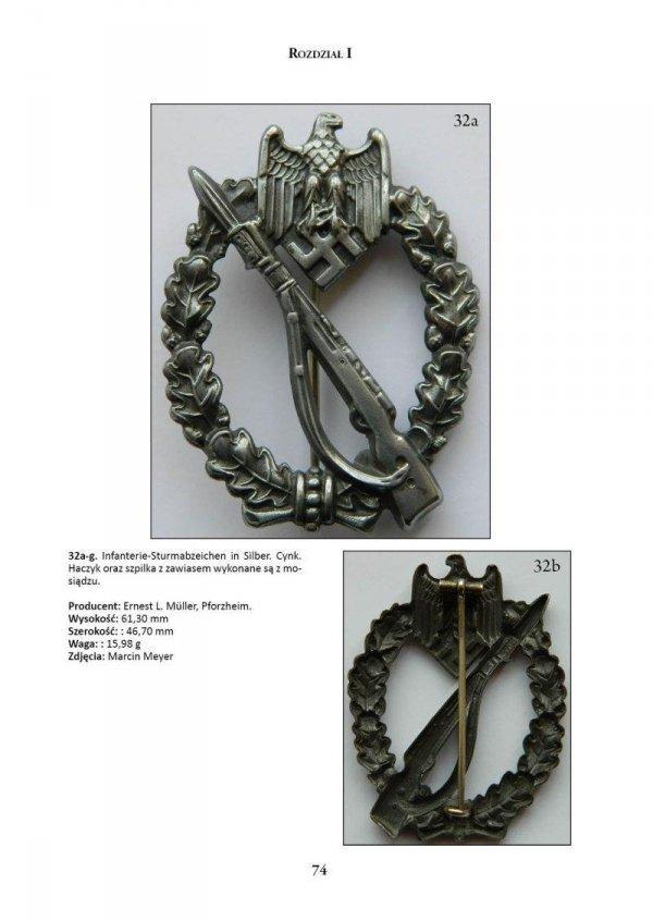 Niemieckie Odznaczenia Bojowe z okresu III Rzeszy tom I