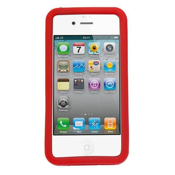 Pokrowiec na Komórkę Iphone 4/4S 143964 Silikon