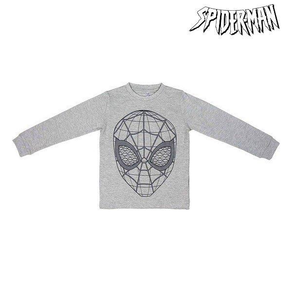 Piżama Dziecięcy Spiderman 74807 Szary Niebieski (2 Pcs)