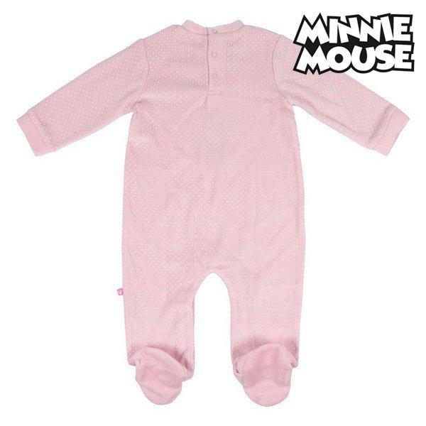 Śpioszki z Długim Rękawem Minnie Mouse Różowy