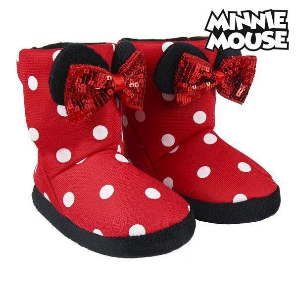 Pantofle Dla Dzieci Minnie Mouse Czerwony