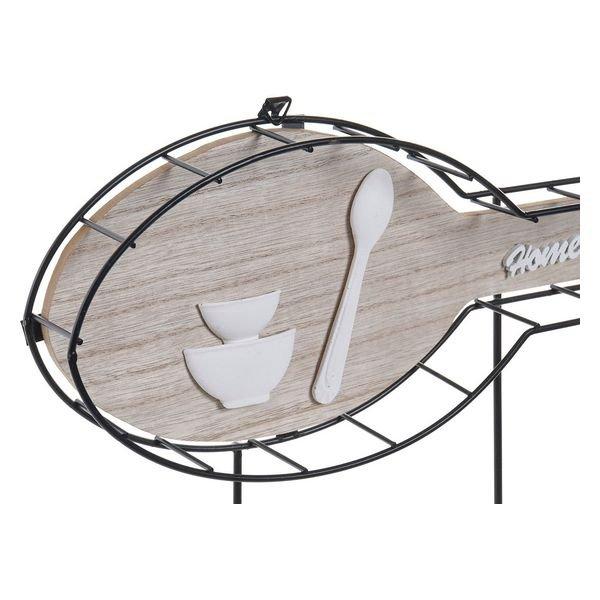 Wieszak ścienny DKD Home Decor Łyżka Drewno Metal (54 x 4 x 23 cm)